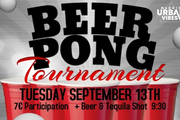 beer pong tuesday