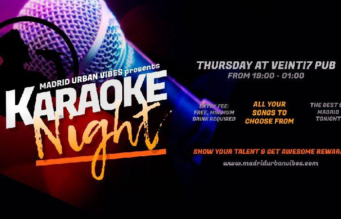 Karaoke night Madrid